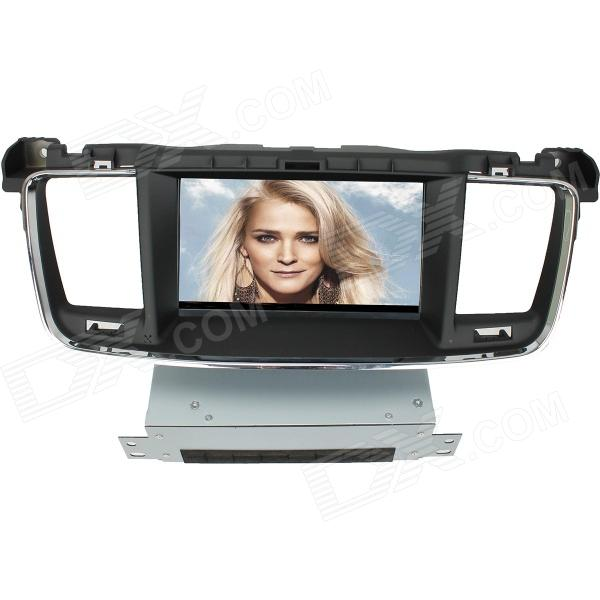 LsqSTAR 7 Touch Screen Separate Car DVD Player w/ GPS, AM, FM, RDS, TV, Canbus, AUX for Peugeot 508 lsqstar 7 touch screen 2 din car dvd player w gps am fm rds 6cdc tv dual zone aux for rav4