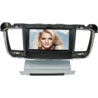"LsqSTAR 7"" Touch Screen Separate Car DVD Player w/ GPS, AM, FM, RDS, TV, Canbus, AUX for Peugeot 508"