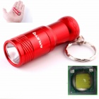 ALETO KL209R Cree XM-L T6 1-LED 274lm 3-Mode White Light Flashlight w/ Keychain - Red (1 x 16340)