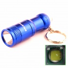 ALETO KL209R 1-LED 700lm 3-Mode White Light Flashlight w/ Keychain - Blue (1 x 16340)