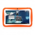 "iRulu AK718 7"" Android 4.0 Tablet PC w/ 512MB RAM, 8GB ROM, Camera, Keyboard Case for Kids - Orange"