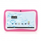 "iRulu AK714 7"" Android 4.0 Tablet PC w/ 512MB RAM, 8GB ROM, Dual-Camera, Keyboard Case for Kids-Pink"