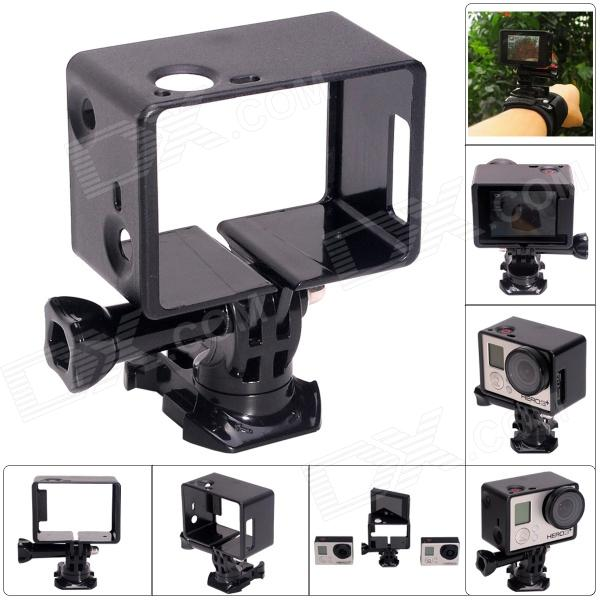 Fat Cat Advanced 360 Degree Rotary Bacpac Frame Mount for Gopro Hero 4/ 3+ / 3 - Black цена и фото