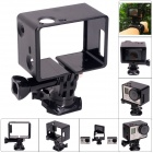 Fat Cat Advanced 360 Degree Rotary Bacpac Frame Mount for GoPro Hero 3+ / 3 - Black