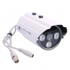 "Veilante SV-237HD 1/3"" CCD 700TVL Sony Effio-E Waterproof CCTV Camera w/ 2-IR-LED / PAL - White"