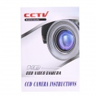 "Veilante SV-237HD 1/3"" CCD 700TVL Effio-E Waterproof CCTV Camera w/ 2-IR-LED / PAL - White"