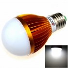 ZHISHUNJIA E27 12W 1000lm 6000K 24 x SMD 5630 LED White Light Lamp Bulb - White + Golden (85~265V)