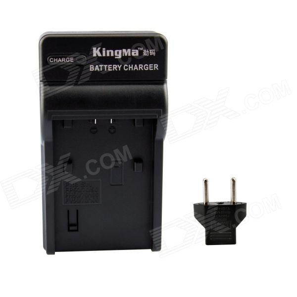 Kingma NP-FV50 US Plug Battery Charger w/ EU Adatper for SONY FV70 / FV100 / FH70 / FH100 / FP50 2pcs battery charger np fh50 rechargeable camera battery bateria sony np fh50 dcr dvd dcr hc fh30 fh40 tg3 tg5 tg7 dsc hx1