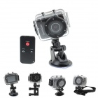 "SPC02 2.4"" LCD HD 1080P 5.0MP CMOS F3.1 f9.3mm Diving Camera / Sports Camera - Black"