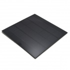 WN-08 2.5W 5V Solar Powered Panel - svart (140 x 140 mm)