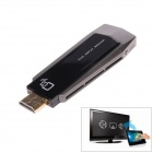 LinkIn Me Wireless Wi-Fi Miracast DLNA Airplay TV HDMI Dongle Adapter - Black + Light Brown