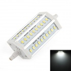 R7S 12W 900lm 6500K 30 x SMD 5630 LED White Light Corn Lamp Bulb - Silver (85~265V)