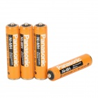 Panasonic 1.2V 620mAh Rechargeable Ni-MH AAA Battery - Orange + Black (4 PCS)