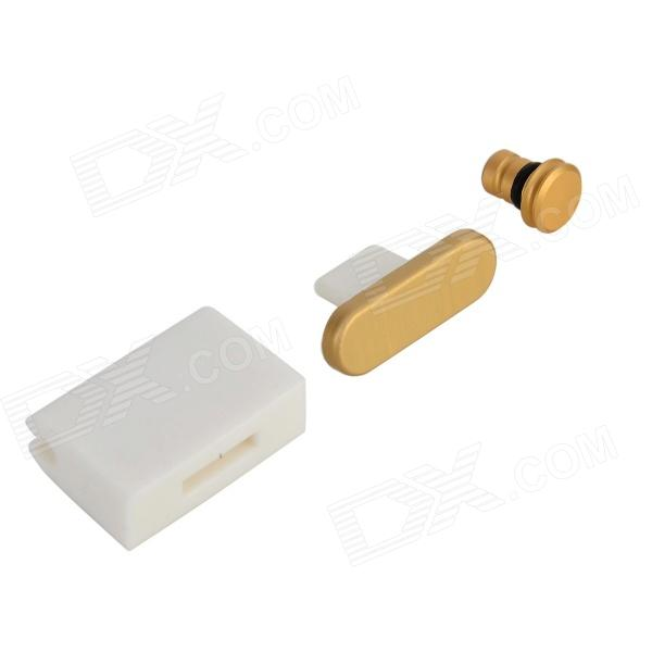 3.5mm Anti-Dust Plug + Charge Port Anti-Dust Plug + 2-in-1 Storage Holder for IPHONE / IPAD / IPOD