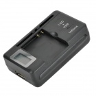 "3.8V/2100mAh Battery + 0.8"" LCD US Plug Charger + EU Plug Adapter for Samsung Galaxy Core i8262"