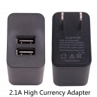 Fat Cat 2.1A High Current Fast Smart Dual Charger w/ Protection Circuit for GoPro Hero 3+ / 3