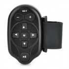 Steering Wheel Mounted Remote Control for Car DVD Player / CD / VCD - Black