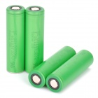 Sony 18650 2600mAh Rechargeable Lithium-ion Battery - Green (4 PCS)