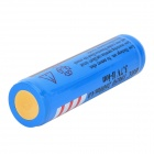 FANDYFIRE Rechargeable 3.7V 18650 2000mAh Li-ion Battery w/ Protection Board - Blue + Black