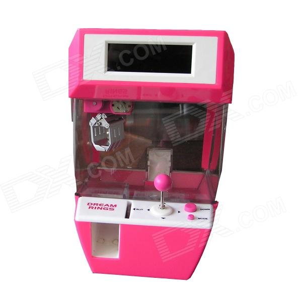 OLED Screen Gift Catcher Alarm Clock - Pink (3 x AAA) the catcher in the rye