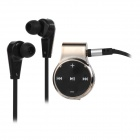 Aita AT-BT35 Sport Bluetooth V4.0 In-Ear Headset w/ Microphone - Silver + Black