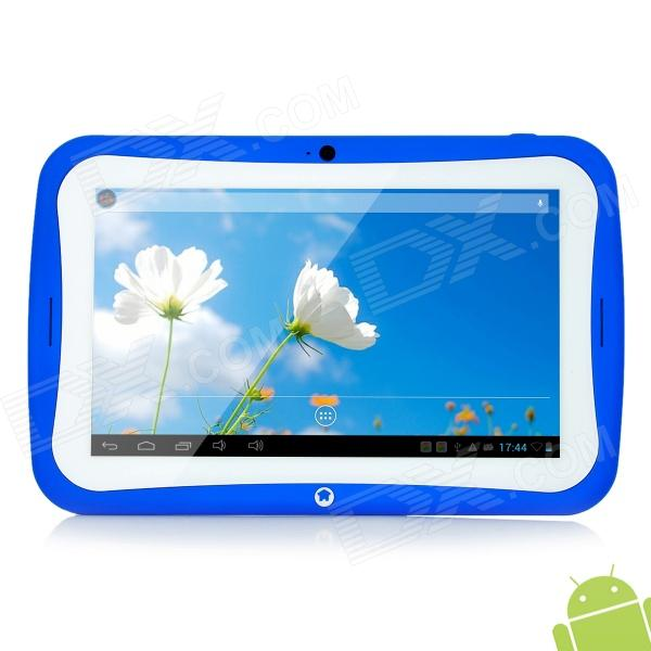 "BENEVE 7"" Dual Core Android 4.2.2 Tablet PC w/ 8GB ROM / 3G / Wi-Fi / TF / G-Sensor - Blue"