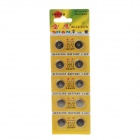 SHAN AG13 / 357A / LR44W 1.55V Alkaline Cell Button Battery (10 PCS)