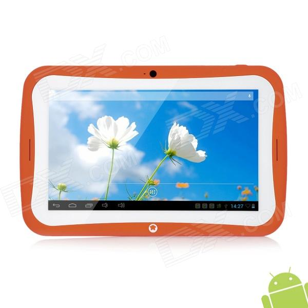 BENEVE R70AC 7 Dual Core Android 4.2.2 Tablet PC w/ 16GB ROM / 3G / Wi-Fi / TF / G-Sensor - Orange a13 7 capacitive touch screen android 4 1 tablet pc w tf camera wi fi g sensor white