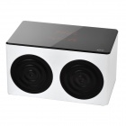 KR-7600 3W Bluetooth V2.1 Touch Speaker w/ Microphone / TF / FM / Micro USB - White + Black