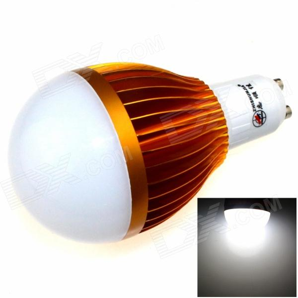 ZHISHUNJIA GU10 12W 1000lm 6000K 24-SMD 5630 LED White Light Bulb (85~265V)GU10<br>Form  ColorGolden + WhiteColor BINWhiteBrandZHISHUNJIAModelGU10-5630A-24LEDMaterialAluminum alloyQuantity1 DX.PCM.Model.AttributeModel.UnitPower12WRated VoltageAC 85-265 DX.PCM.Model.AttributeModel.UnitConnector TypeGU10Theoretical Lumens1200 DX.PCM.Model.AttributeModel.UnitActual Lumens1000 DX.PCM.Model.AttributeModel.UnitChip BrandOthers,SamsungChip Type5630Emitter TypeLEDTotal Emitters24Color Temperature6000KDimmableYesBeam Angle180 DX.PCM.Model.AttributeModel.UnitPacking List1 x LED light<br>