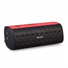 MOCREO MOSOUND Bar Waterproof Portable Wireless Bluetooth Speaker w/ TF, Microphone - Black + Red