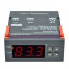 "CHEERLINK MH1210F AC110V 1.7"" Screen Intelligent Digital Temperature Controller - Black + Orange"
