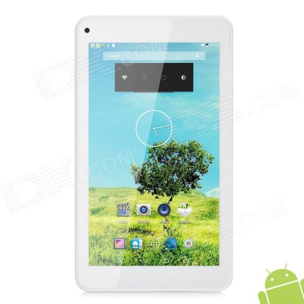 "CHUWI V17HD 7 ""Quad Core Android 4.4.2 Tablet PC avec 8 Go ROM / Wi-Fi / G-capteur / TF-Blanc"