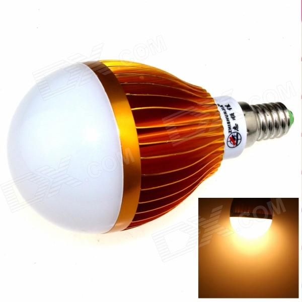 ZHISHUNJIA E14 12W 24-SMD LED 3000K Warm White 1000lm Bulb (85~265V)E14<br>Form  ColorGolden + White + Multi-ColoredColor BINWarm WhiteBrandZHISHUNJIAModelE14-5630A-24LEDMaterialAluminum alloyQuantity1 DX.PCM.Model.AttributeModel.UnitPower12WRated VoltageAC 85-265 DX.PCM.Model.AttributeModel.UnitConnector TypeE14Chip BrandOthers,SamsungChip Type5630Emitter TypeLEDTotal Emitters24Theoretical Lumens1200 DX.PCM.Model.AttributeModel.UnitActual Lumens1000 DX.PCM.Model.AttributeModel.UnitColor Temperature3000KDimmableNoBeam Angle180 DX.PCM.Model.AttributeModel.UnitPacking List1 x LED light<br>