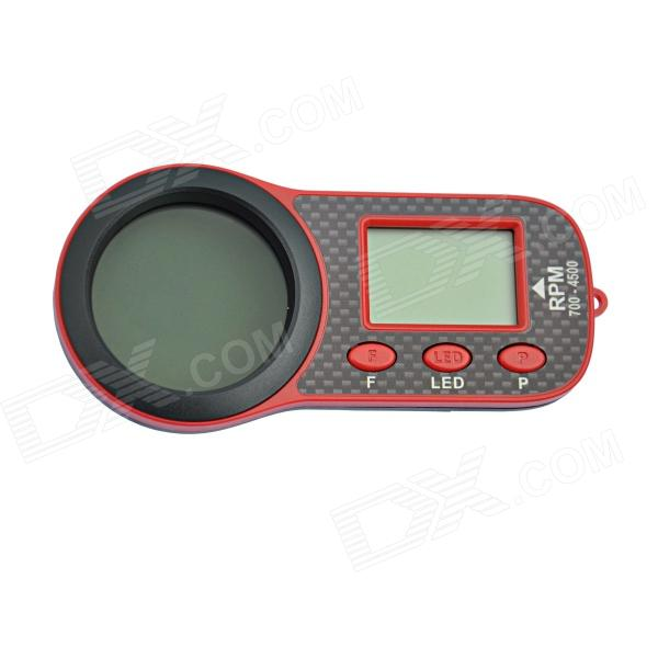 SKYRC SK-500010-01 Optical Tachometer OPT-010 w/ 1.6 3D Glass Screen - Black + Red для глаз catrice the modern matt collection eyeshadow palette 010 цвет 010 the must have matts variant hex name b19f9b