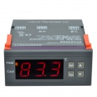 "CHEERLINK MH1210B 1.7"" Screen Intelligent Digital Temperature Controller w/ Alarm - Black + Orange"