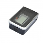 "SKYRC GSM-010 SK-500002-01 1.2"" LED Screen GPS Speed Meter - Black + Silver"