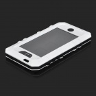 Cooskin SW-204 Waterproof Protective Aluminum Alloy + Silicone Full Body Case for IPHONE 5 - White