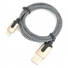 Mfi d&s dsm8201 usb to lightning cable w/ braided housing for iphone / ipad / ipod (100cm)