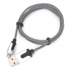 MFi D&S DSM8202 USB to Lightning Cable w/ Braided Housing for iPhone / iPad / iPod (100cm)