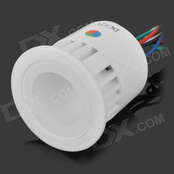 YouOkLight 3W 100LM RGB LED Ceramics Spotlight - White (DC12V)