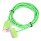 MFi D&S DSM1118 Apple 30-Pin to USB Charging & Data Cable for iPhone / iPad / iPod - Green (150cm)