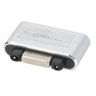 Aluminum Alloy Magnetic Charging Port to Micro 5-Pin Adapter for Sony Z1 / Z1 Mini + More - Silver