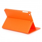 Protective Flip Open PU Leather + PC Case w/ Stand for IPAD MINI - Orange