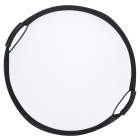 Double Hand-held Portable 60cm 5-in-1 Round Reflector Board - Silver + Golden