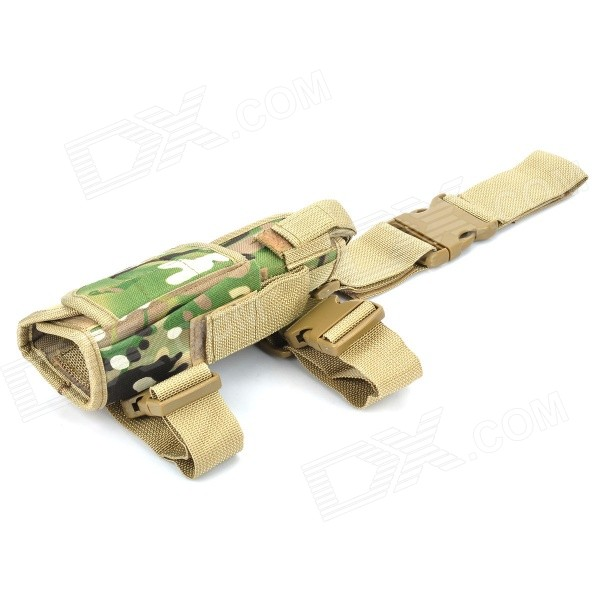 Outdoor War Game Military Gun Pistol Holster - Camouflage