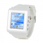 "AK912 Ultrathin GSM Watch Phone w / 1,6 ""écran, Bluetooth, tribande et FM - Blanc"