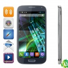 "JIAKE I9500W Android 4.2.2 Quad-core WCDMA Bar Phone for 5.0"" Screen, Wi-Fi and GPS - Black + Silver"