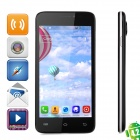 "JIAKE V2  Android 4.2.2 Dual-core WCDMA Bar Phone w/ 4.5"" Screen, Wi-Fi and GPS - Black"