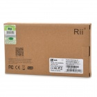 rii RT-MWK08 USB 2.0 da 2,4 GHz wireless tastiera touch 92-Key
